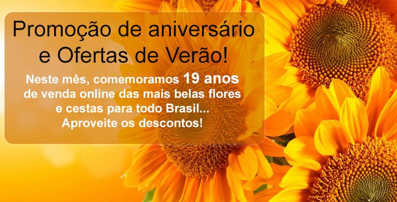 Promoção de Aniversário e Ofertas de Verão