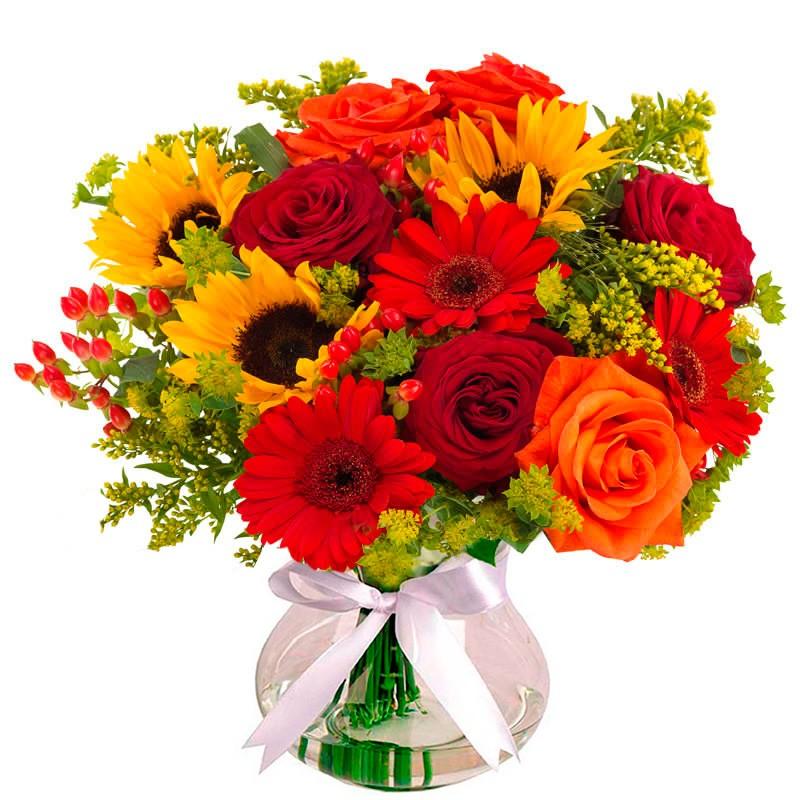Buquê Sorriso das Flores Super Luxo - Uniflores