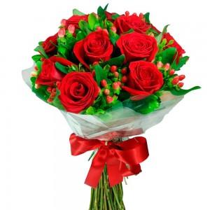 Buque de rosas para Cuiabá - MT