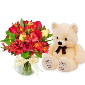 Buque Amor e Urso de Pelucia