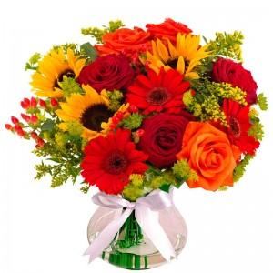 Bouquet Super Luxury Flowers Mix