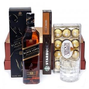 Kit para presente com Whisky