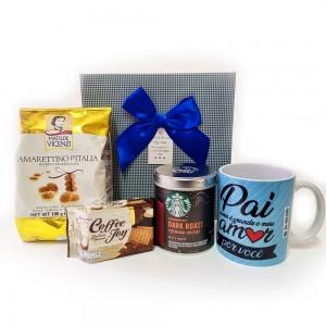 Kit Café com Delícias Dia dos Pais Grande Amor
