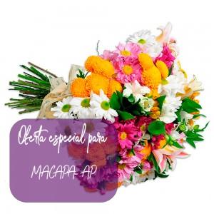Buque Garden de flores do campo para Macapá - AP