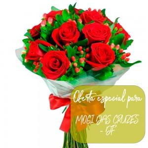 Buque de rosas para  Mogi das Cruzes - SP