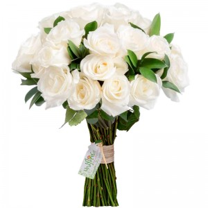 Buquê Tradition White Roses