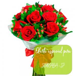 Buque de rosas para  Sorocaba - SP