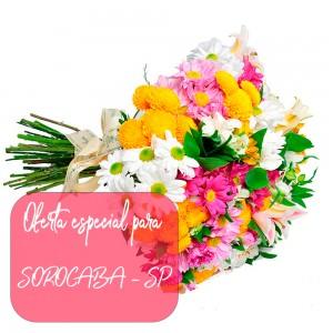 Buquê Garden Flores do Campo para entrega em Sorocaba - SP