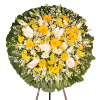 Coroa de Flores Luxo Gold
