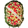 Coroa de Flores Dupla Luxo Rubi