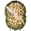 Coroa de Flores Dupla Super Luxo Safira