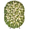 Coroa de Flores Luxo Diamante Dupla