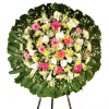 Coroa de Flores Luxo Safira