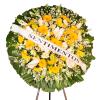Coroa de Flores Premium Gold