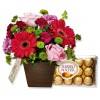 Flores com Bombons Beleza da Primavera