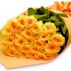 Buque Luxo de rosas Amarelas
