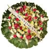 Coroa de Flores Premium Rubi