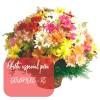 Oferta de flores especial para Dourados: Cesta de Flores do Campo