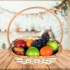 Cesta de Frutas Feliz dia pra você