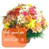 Oferta de flores especial para João Pessoa: Cesta de Flores do Campo