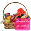 Oferta especial: cesta de café da manhã luxo para Praia Grande - SP
