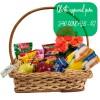 Oferta especial: cesta de café da manhã luxo para São Gonçalo - RJ