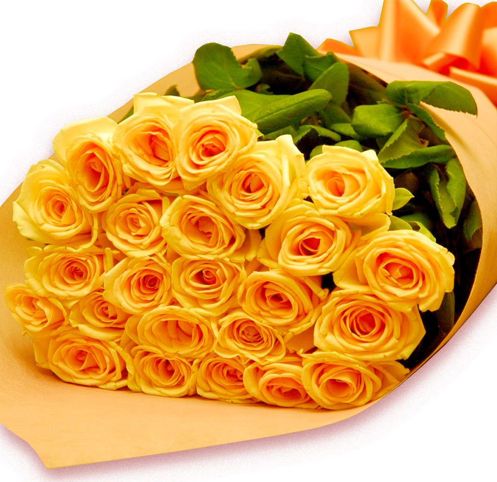 Buquê Rosas Amarelas