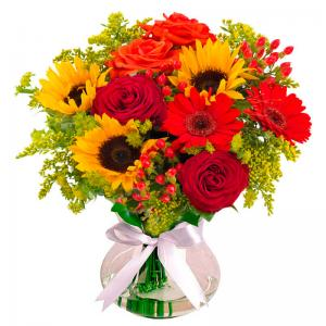 Buquê Sorriso das Flores Luxo