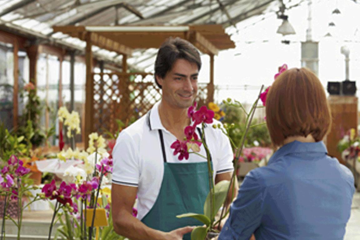 Flores no dia do consumidor