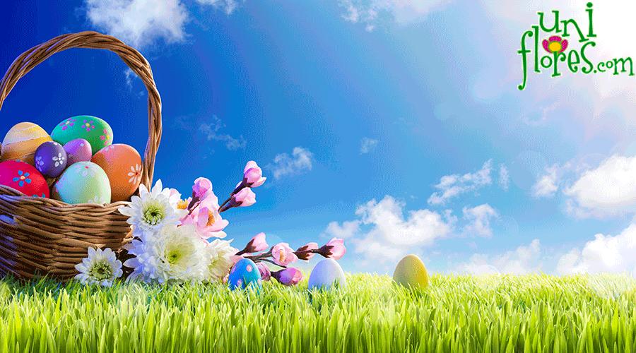 Flores na páscoa