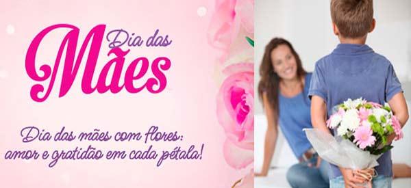 Agradeça e retibua com flores e cestas no dia das mães!