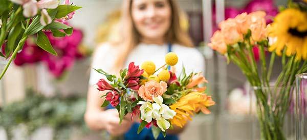 Flores e cestas para enviar seus agradecimentos!